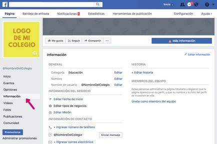 facebook-para-colegios