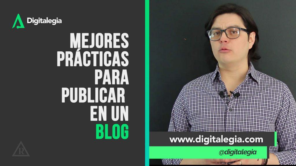 [VIDEO] MEJORES PRÁCTICAS PARA PUBLICAR EN UN BLOG